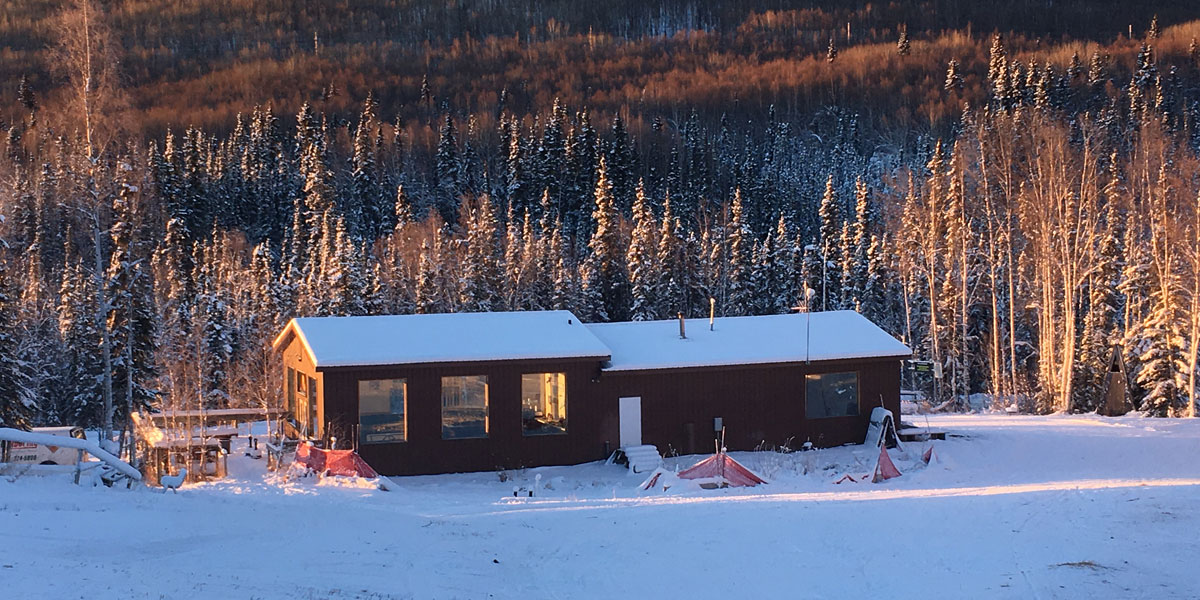 Moose Mountain Ski Lodge, Fairbanks Alaska