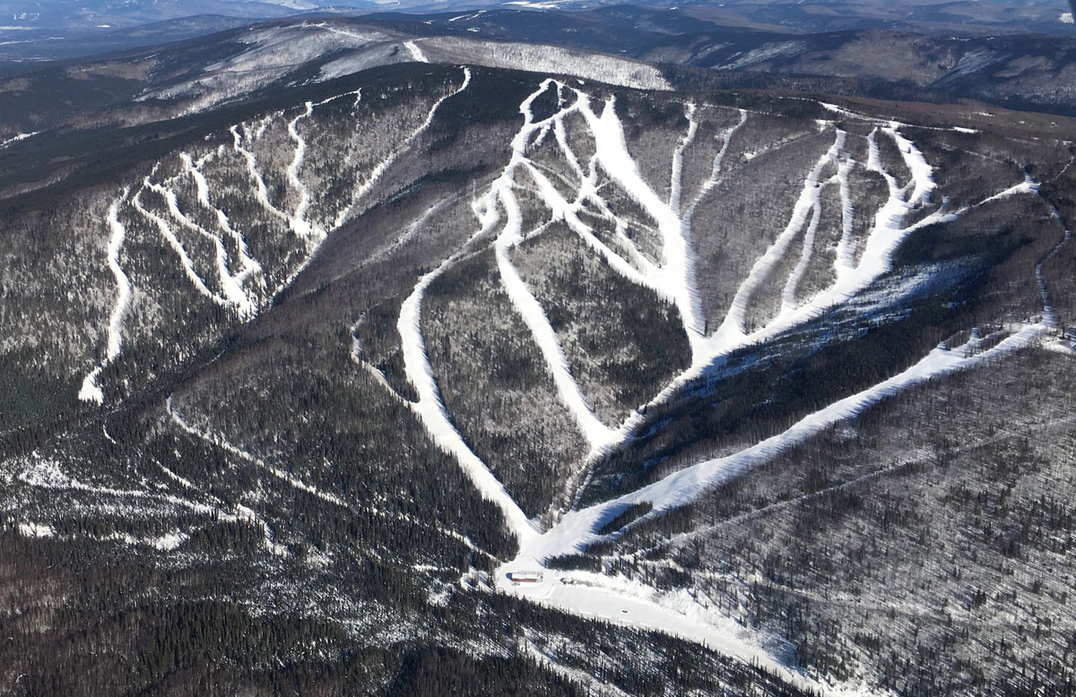 Moose Mountain Alaska Ski and Snowboard Area