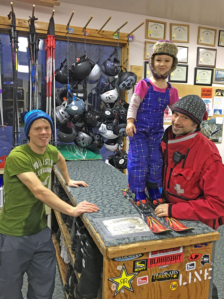 Fairbanks Ski Rentals and Snowboard Rentals - Moose Mountain